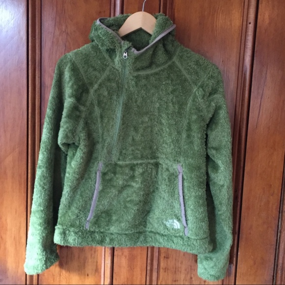 378ba7957 The North Face Fuzzy Side Zip Pullover Hoodie